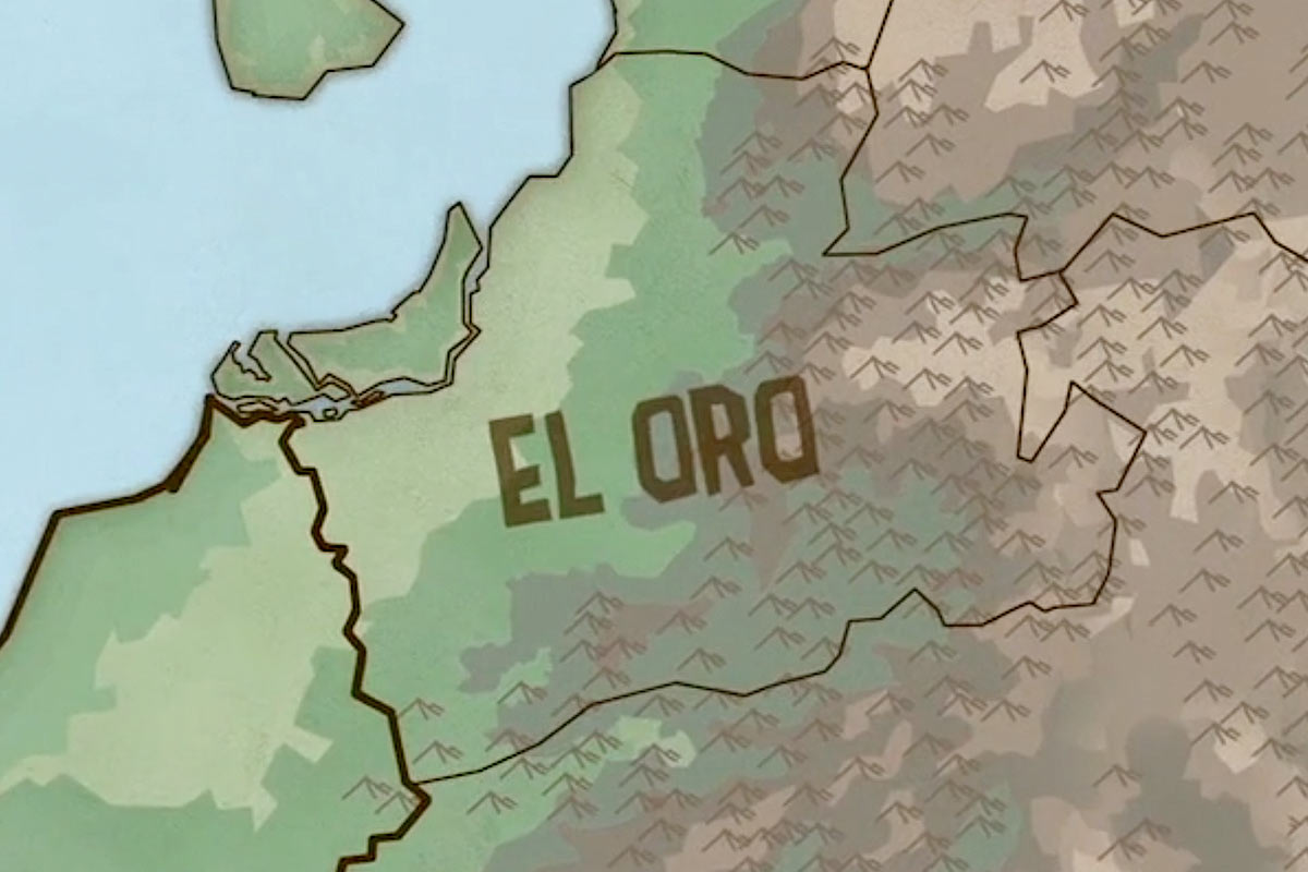 Animating El Oro: Animation for the Digital Humanities