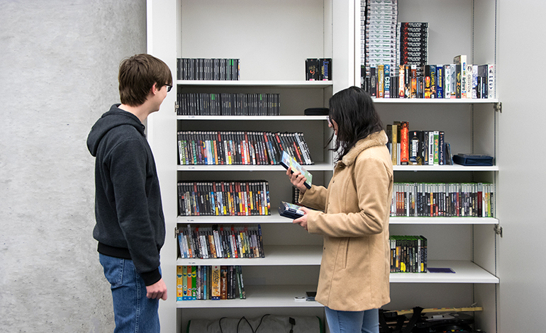 Games and Media Library