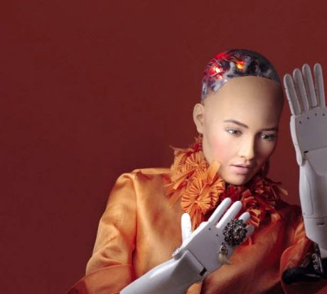 Sophia Robot by Dallas-born Designer