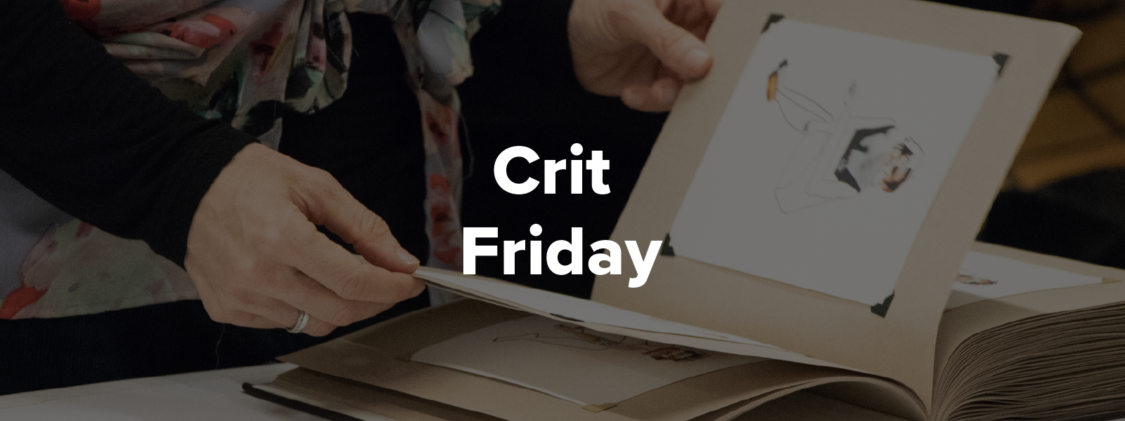 Crit Friday Event Banner