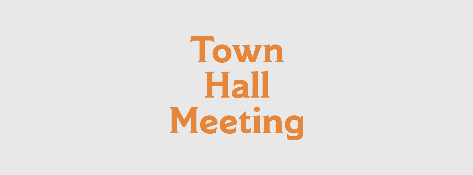 ATEC Town Hall Meeting Event Banner