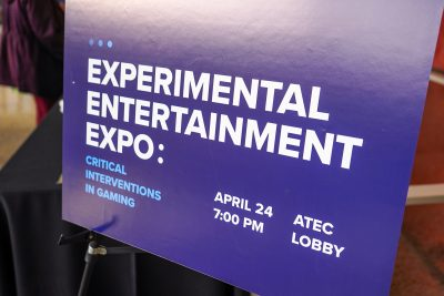 Experimental Entertainment Expo signage