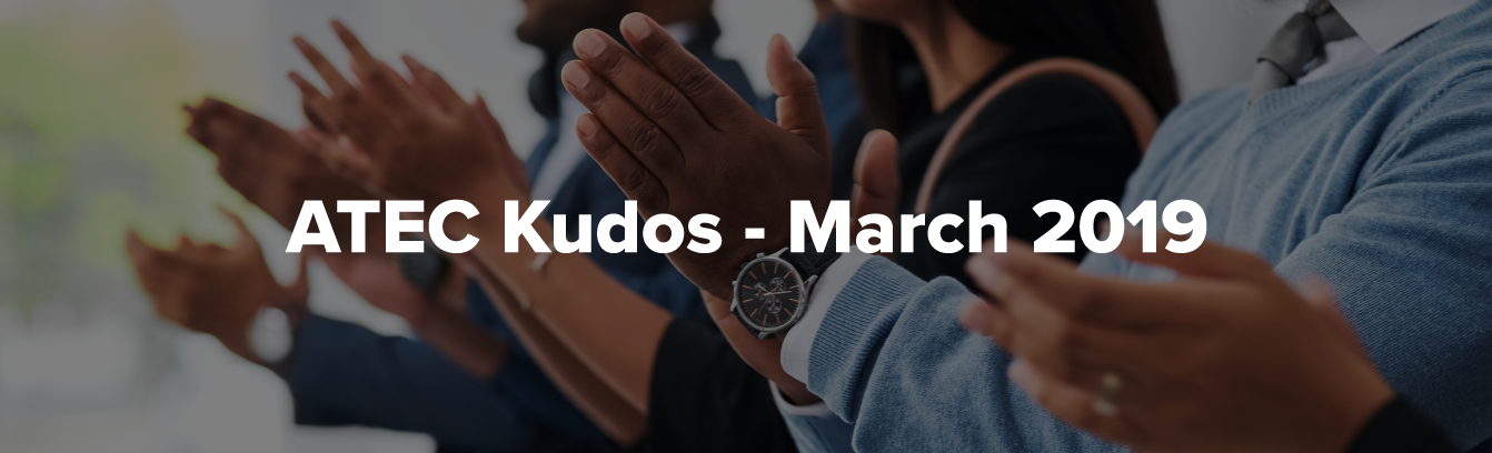 ATEC Kudos - March 2019