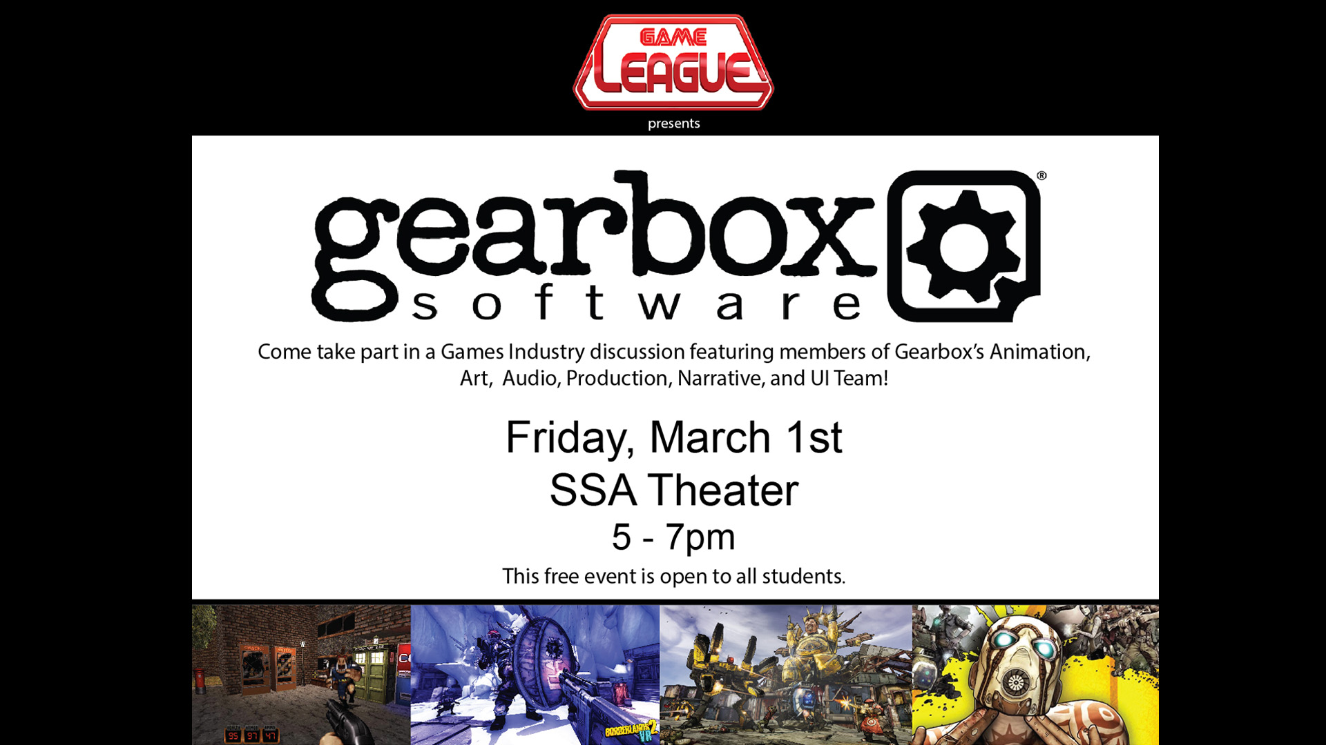 Gearbox Software Discussion | School of Arts Technology and