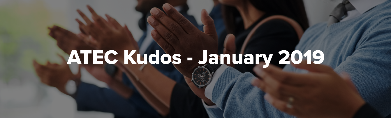 ATEC Kudos - January 2019