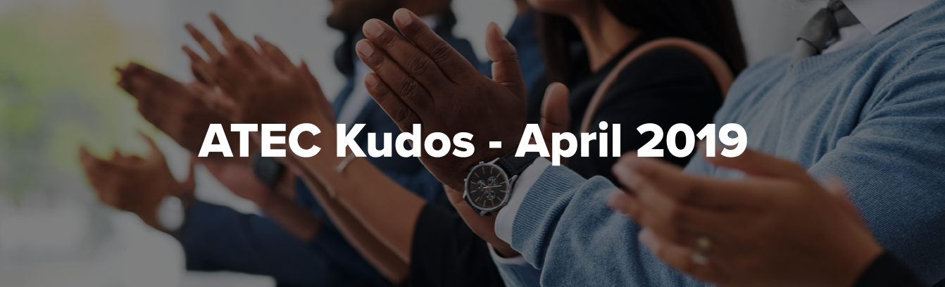ATEC Kudos April Header