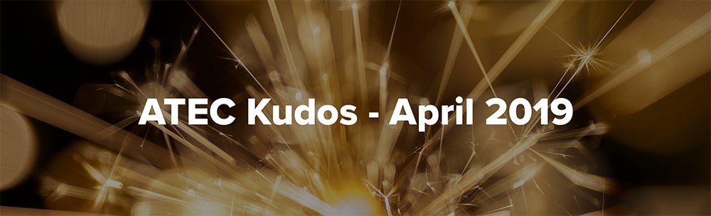 April Kudos Header