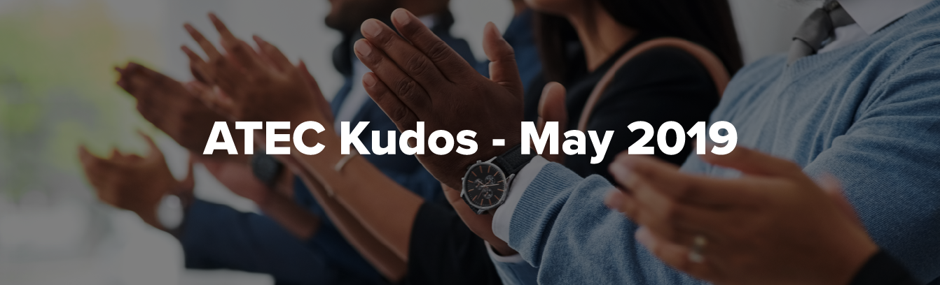 ATEC Kudos May 2019