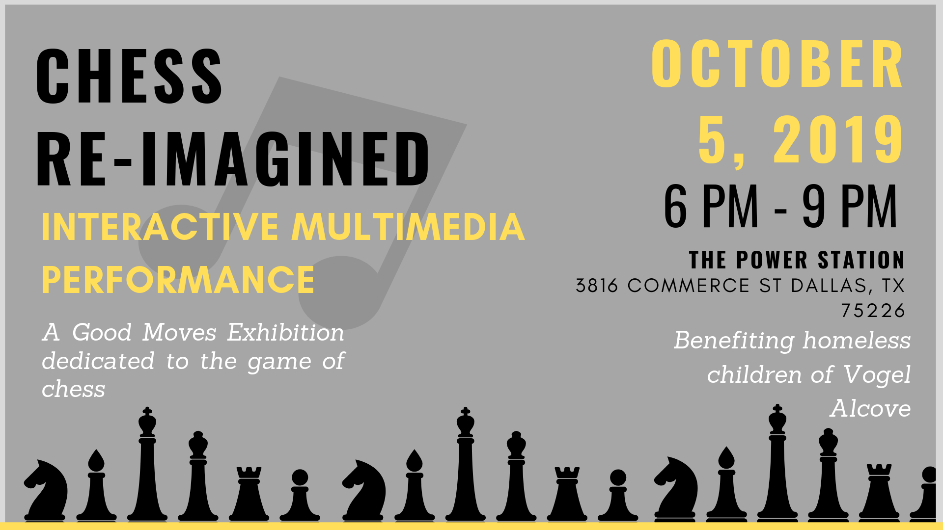 """Interactive Multimedia Performance """"Reunion II"""" for Musical Chess"""