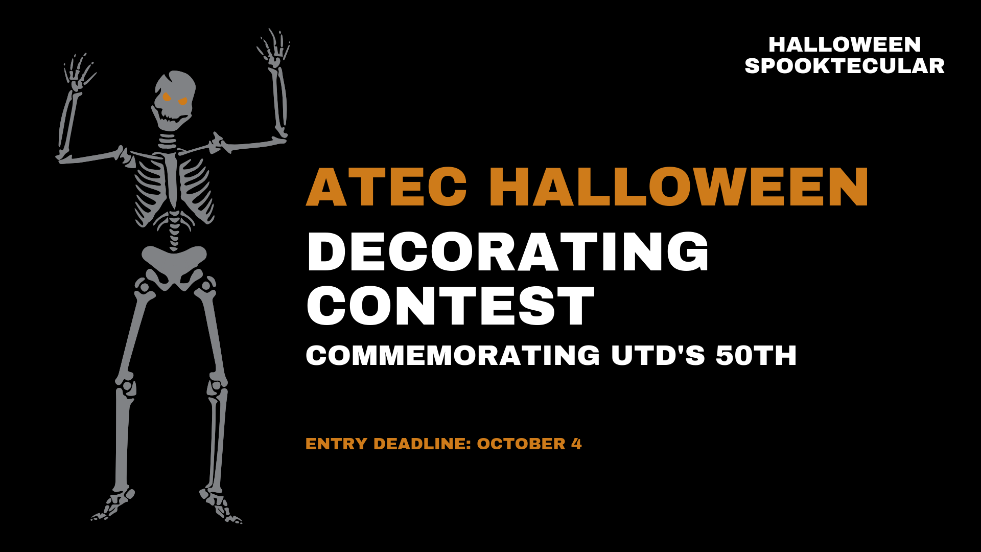 ATEC Halloween Decorating Contest