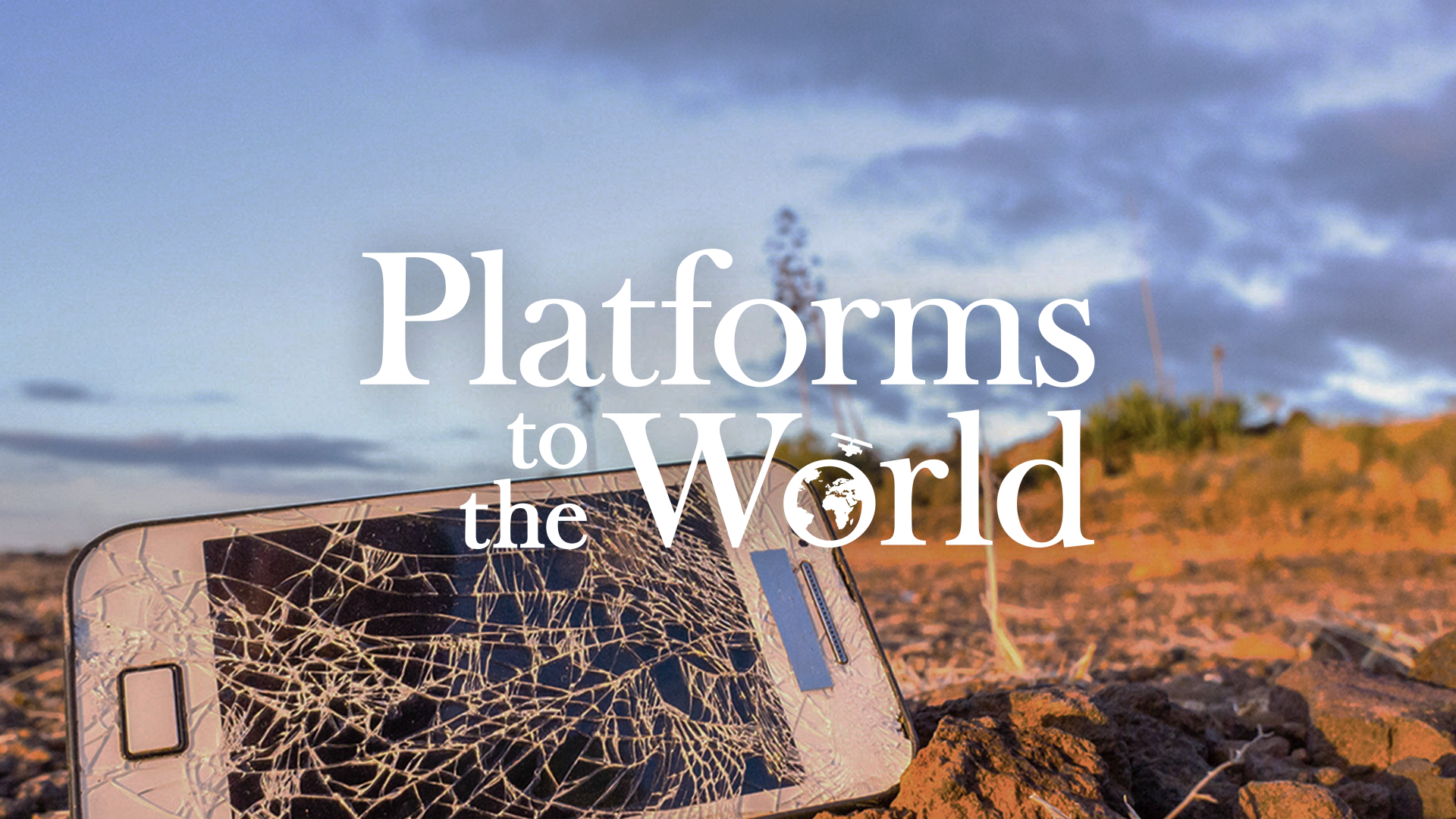 Platforms to the World Banner