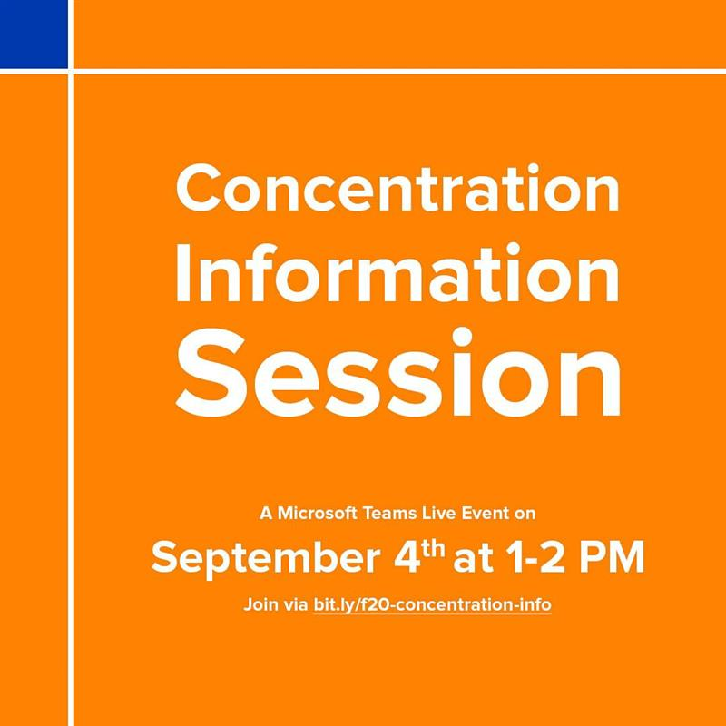 Concentration Information Session