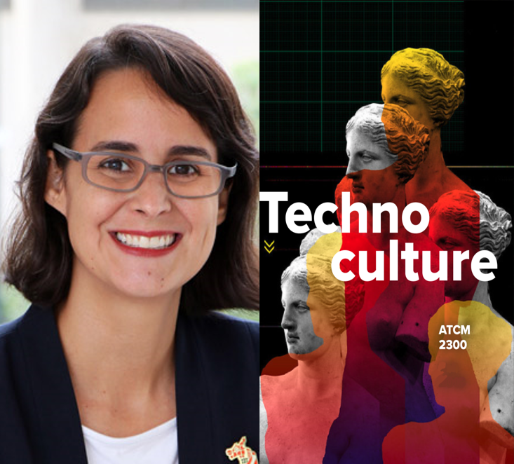 Christine Veras Animation Faculty image and Technoculture Syllabus Cover image