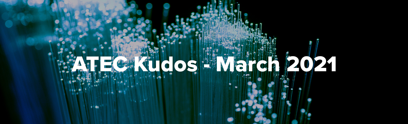 March 2021 ATEC Kudos Header